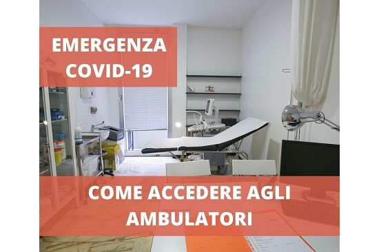 Come accedere agli ambulatori